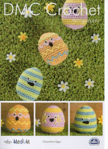 DMC Decorative Eggs Crochet Pattern